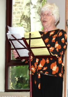 "Penny Wragg reading the monologue ""The Green Eye of the Little Yellow God"""