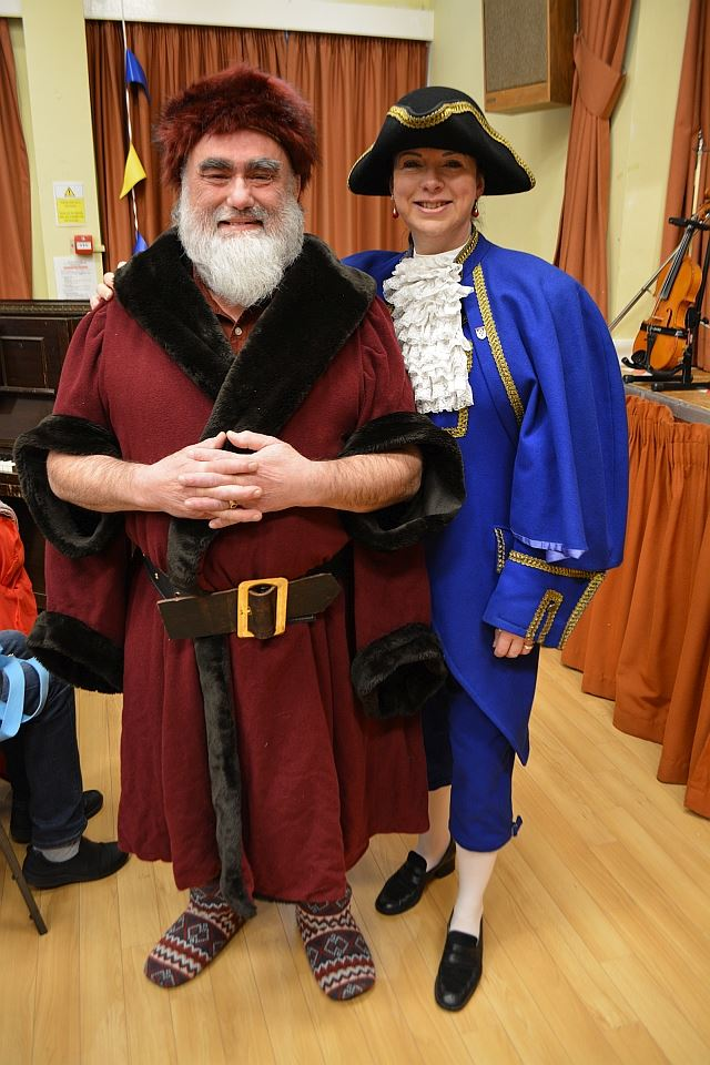 Isabel Ashman, Town Crier, and David Hewitt